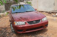 Foreign Used Toyota Corolla 2001 Model Red