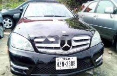 Tokunbo Mercedes-Benz C300 2010 Model Black