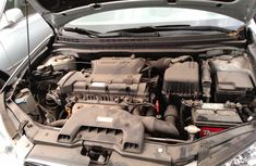 Foreign Used 2008 Silver Hyundai Elantra for sale in Lagos