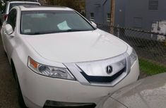 Foreign Used Acura TL 2010 Model White