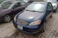 Nigeria Used Toyota Corolla 2007 Model Blue