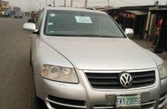 Nigeria Used Volkswagen Touareg 2004 Model Silver