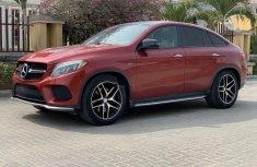 Tokunbo Mercedes-Benz GLE 2016 Model Red