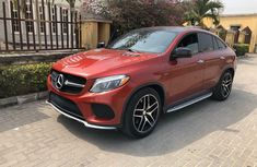 Foreign Used Mercedes-Benz GLE 2016 Model Red