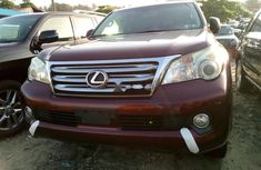 Foreign Used Lexus GX 2010 Model Red