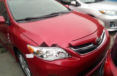 Foreign Used Toyota Corolla 2010 Model Red