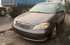 Nigeria Used Toyota Corolla 2007 Model Gray