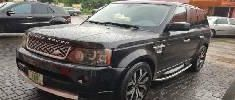 Nigeria Used Land Rover Range Rover Sport 2012 Model Black