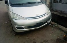 Foreign Used Toyota Previa 2008 Model Silver