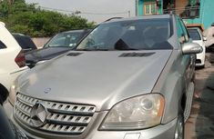 Nigeria Used Mercedes-Benz ML 500 2008 Model Gold