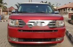 Foreign Used Ford Flex 2010 Model Red
