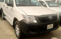 Nigeria Used Toyota Hilux 2015 Model White