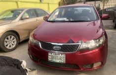 Nigeria Used Kia Cerato 2014 Model Red