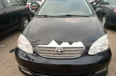 Foreign Used Toyota Corolla 2003 Model Black