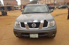 Nigeria Used Nissan Frontier 2008 Model Gray