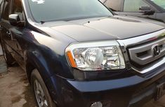 Foreign Used Honda Pilot 2010 Model Blue