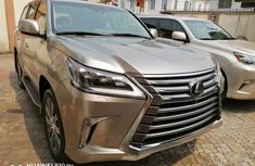 Foreign Used Lexus LX 2015 Model Gray