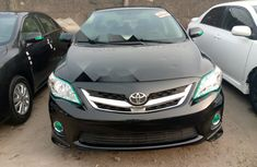 Foreign Used Toyota Corolla 2010 Model Black