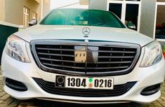 Tokunbo Mercedes-Benz S550 2015 Model Silver