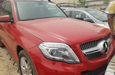 Tokunbo Mercedes-Benz GLK 2013 Model Red