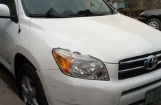 Nigeria Used Toyota RAV4 2008 Model White