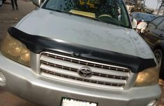 Nigeria Used Toyota Highlander 2004 Model Silver