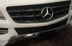Foreign Used Mercedes-Benz ML350 2014 Model White