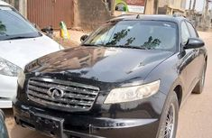 Foreign Used Infinity FX 2006 Model Black