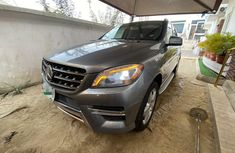 Nigeria Used Mercedes-Benz ML 2014 Model Silver