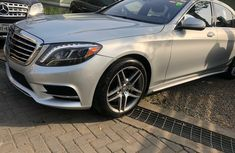 Foreign Used Mercedes-Benz S550 2017 Model Silver