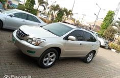 Nigeria Used Lexus RX 2006 Model Gold