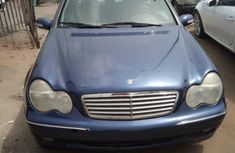 Foreign Used Mercedes-Benz C240 2005 Model Blue