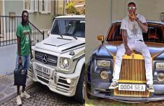 Emmanuel Adebayor tells Funny Face to choose any car he likes from his fleet of cars