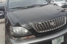 Nigeria Used Lexus RX 2000 Model Black