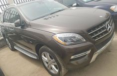 Tokunbo Mercedes-Benz ML350 2013 Model Brown