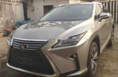 Foreign Used Lexus RX 2018 Model Gold