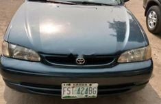 Nigeria Used Toyota Corolla 2000 Model Green