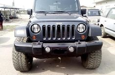 Nigeria Used Jeep Wrangler 2008 Model Black