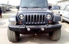 Nigeria Used Jeep Wrangler 2008 Model Black