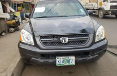 Nigeria Used Honda Pilot 2005 Model Gray