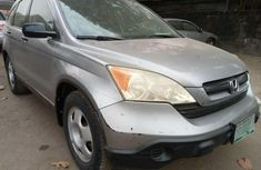 Nigeria Used Honda CR-V 2008 Model Silver