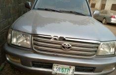 Nigeria Used Toyota Land Cruiser 2004 Model Silver