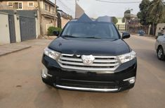 Tokunbo Toyota Highlander 2013 Model Black