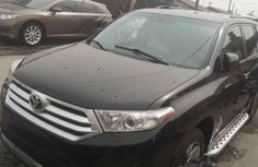 Tokunbo Toyota Highlander 2012 Model Black