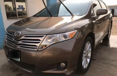 Nigeria Used Toyota Venza 2009 Model Brown