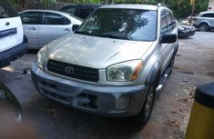 Foreign Used Toyota RAV4 2004 Model Silver