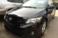 Foreign Used Toyota Corolla 2013 Model Black