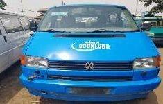 Foreign Used Volkswagen Transporter 2002 Model Blue