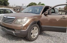 Nigeria Used Kia Mohave 2010 Model Brown