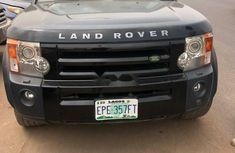 Nigeria Used Land Rover LR3 2007 Model Black